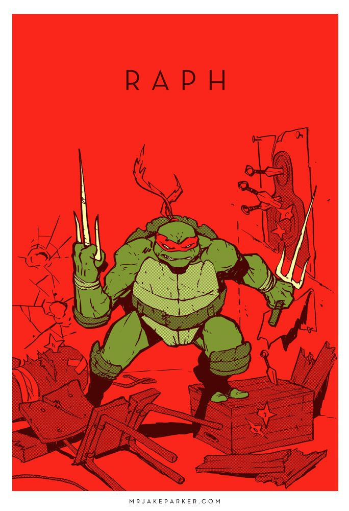 Raphael - Tartaruga ninja