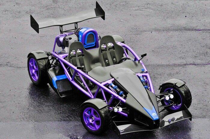 Purple Ariel Atom V8