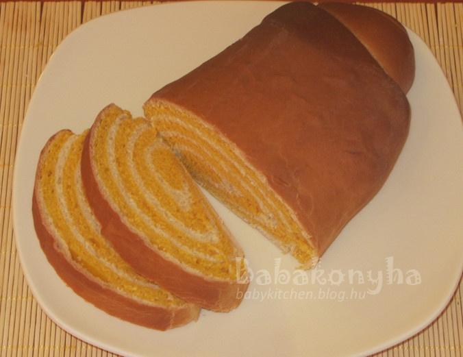 Sütőtökös csíkos kalács a fruktóz- és tejmentes étrend szerint, tojás nélkül 2. by babykitchen.blog.hu