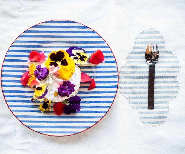 Una Chiffon Cake fiorita - Taste of Style