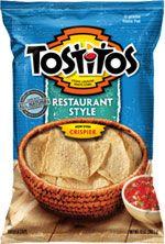 Tostitos Restauran Style Tortilla Chips are gluten free