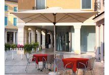 ombrellone a palo centale da terrazza o ristorante