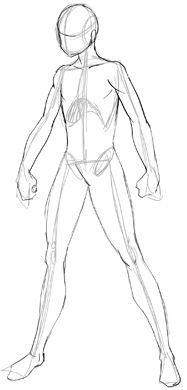 How to Draw Anime Body with Tutorial for Drawing Male Manga Bodies
