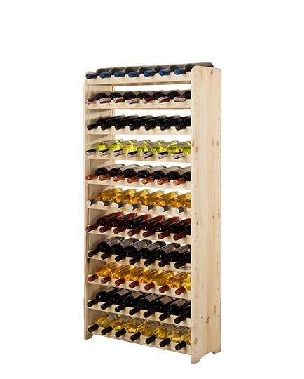 Regał na wino RW-3-77