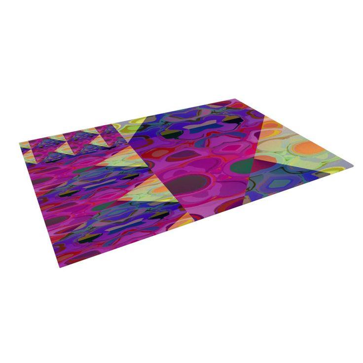 """Nina May """"Alligator Patch"""" Indoor / Outdoor Floor Mat"""