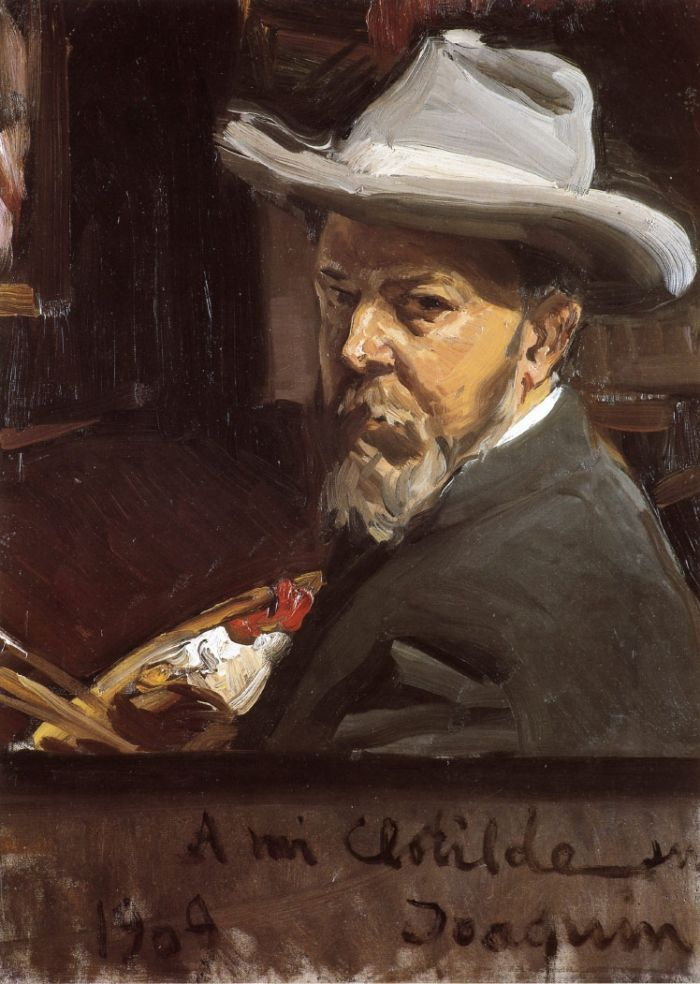 Joaquin Sorolla y Bastida - Self-portrait