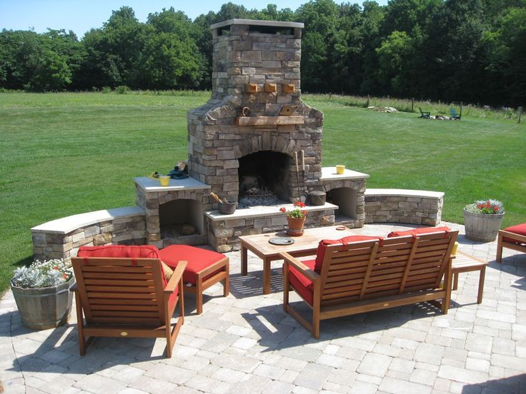 The 25+ Best Outdoor Fireplace Plans Ideas On Pinterest | Outdoor Covered  Patios, Patio And Covered Patios