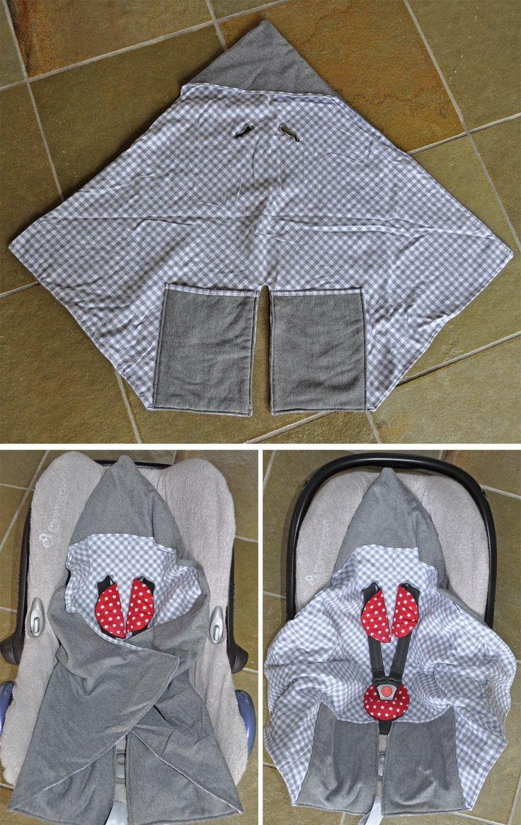 DIY: wikkeldoek voor in de autostoel