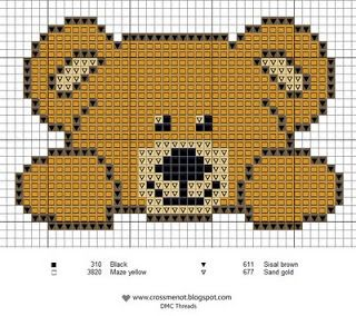 bébé - baby - point de croix - cross stitch - Blog : http://broderiemimie44.canalblog.com/