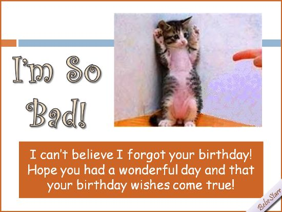 139 best Belated birthday images – Free Belated Birthday Cards