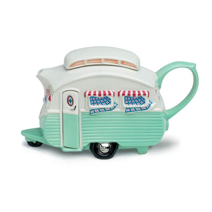 Camper teapot: Teapotteri Caravan, Teapotteri Tours, Caravan Teas, Ceramics Teapots, Teas Pots, Campers Teapots, Caravan Teapots, Tea Pots, Tours Caravan