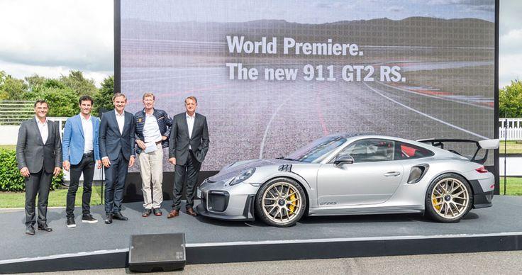 Porsche 911 991 GT2 RS premiere in Goodwood