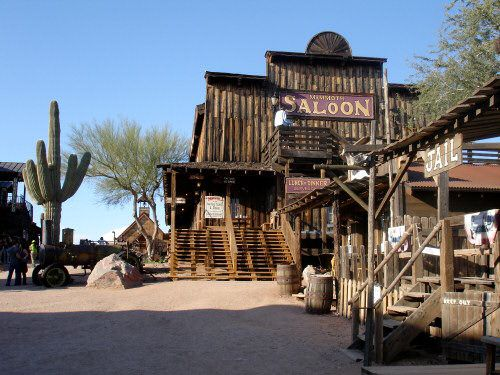 Participate in a shootout in a Old West Town.