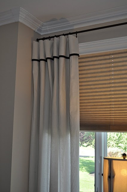 Curtains Ideas curtains made from painters drop cloths : 17 Best ideas about Drop Cloth Curtains on Pinterest | Curtains ...