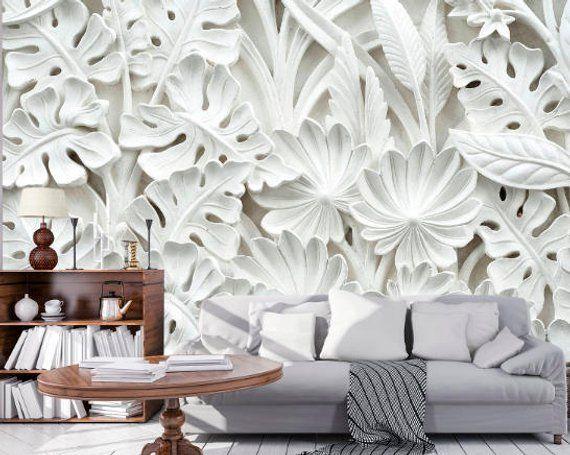 3d flower wallpaper 3d wall sticker wall decor peel and stick