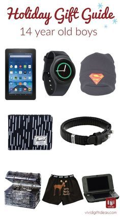 Cool teen boy gifts. Christmas gift ideas for 14 year old boys. (holiday gift guide)