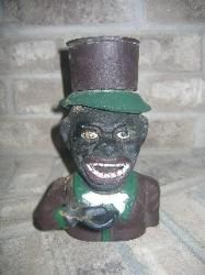 Antique cast iron Black Americana  Jolly Man  mechanical coin money bank is in Great - Good Condition. Some apparent signs of aging to the cast iron. & 202 best Antique cast iron mechanical banks images on Pinterest ... Aboutintivar.Com
