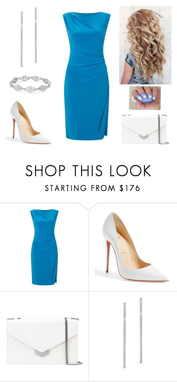 """Blue beauty"" by paoladouka on Polyvore featuring Ralph Lauren, Christian Louboutin and Jimmy Choo"