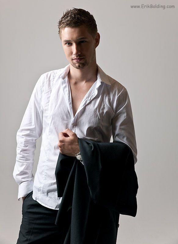 Meer foto's van mannen of mannelijke modellen in de studio in Meppel (Modelfotografie)
