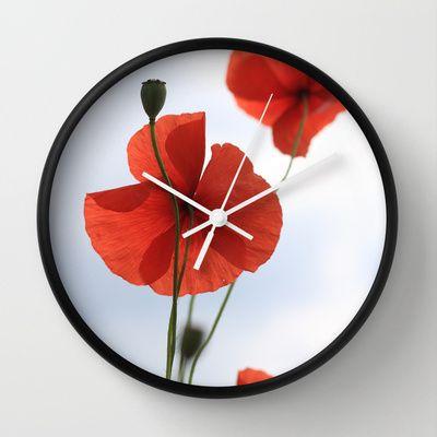 Mohn Wall Clock by Fine2art - $30.00