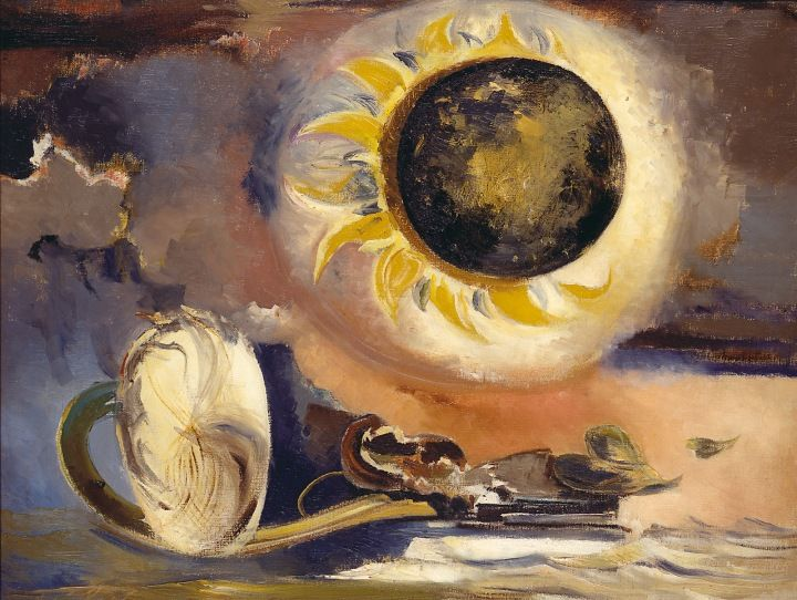 Paul Nash, Eclipse of the Sunflower, 1945, Oil on canvas, British Council (London, UK) Paul Nash © Tate