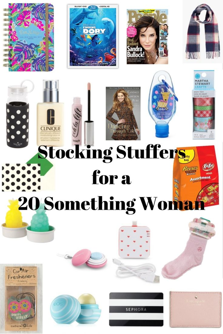 Here's some ideas to help you pick out the perfect stocking stuffers for a young adult