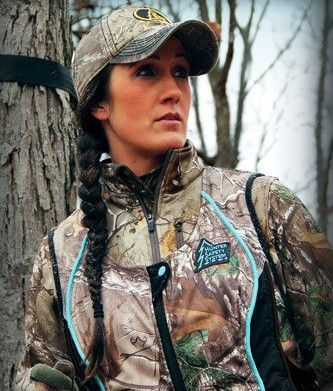 A Tree Stand Harness for Women