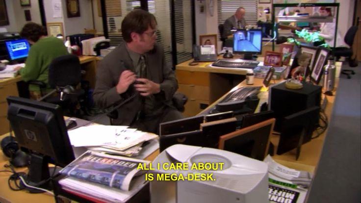 Mega Desk | The Office 3 | Pinterest