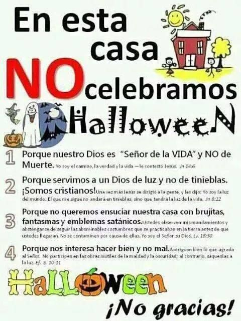En está casa no celebramos Halloween...
