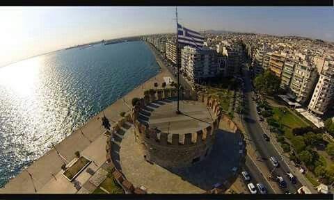 Λευκός Πύργος (White Tower) στην περιοχή Θεσσαλονίκη, Θεσσαλονίκη