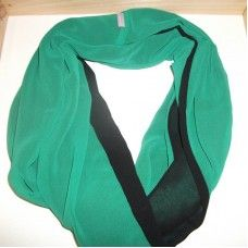 Shop for this Snood Double Sided Emerald Green and Black at the Bo Kaap Food and Craft Market Saturday 7 June 2014 Schotsche Kloof CivicCentre #muslimah #hijab #reversible