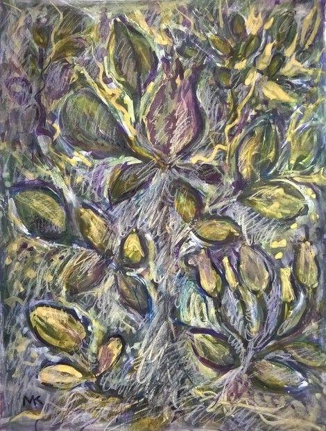 Mihaela Marilena Chitac, ROSE LEAVES on ArtStack #mihaela-marilena-chitac #art