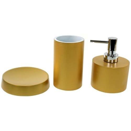 Nameeks YU281 Gedy Bathroom Accessories Set (Metal (Grey) Finish)