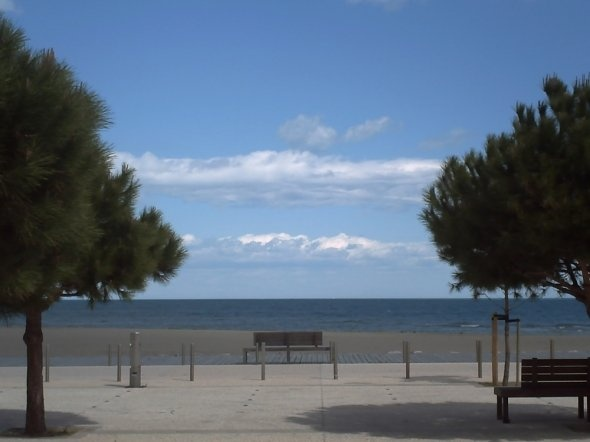 La Franqui Plage & Leucate in the South of France. Lovely places to visit.