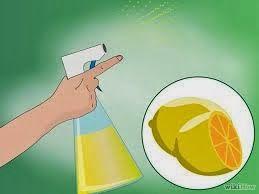 spray al limone per box doccia
