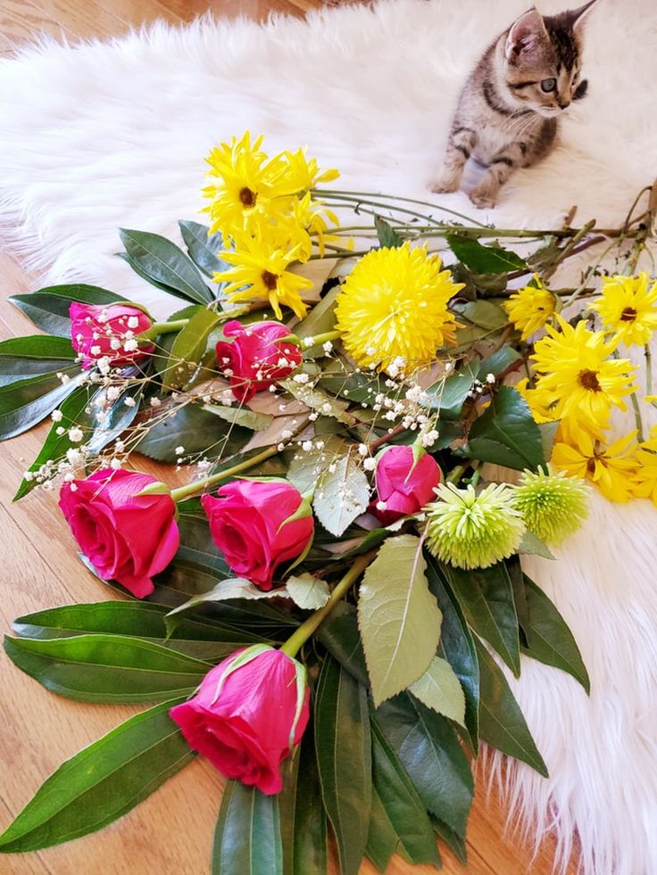 Send a smile today in the form of a beautiful bouquet