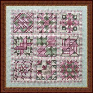 Quilt Block Cross Stitch Sampler