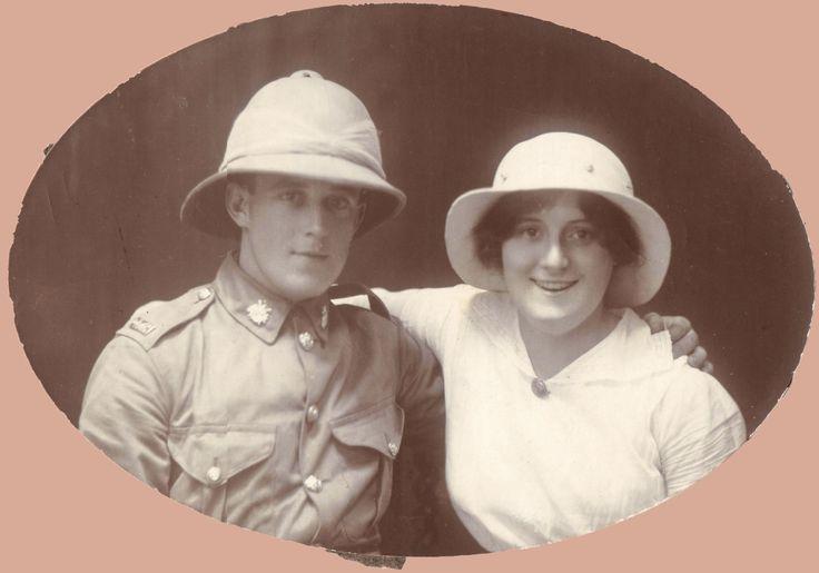 Stella and Murdoch Tait: 1914