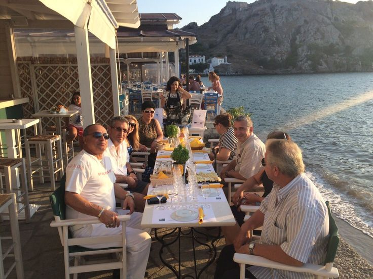 Wine tasting at Isalos cafe-restaurant in Myrina, Sunday, July 24 — with Lemnos Wine Trails at Isalos.