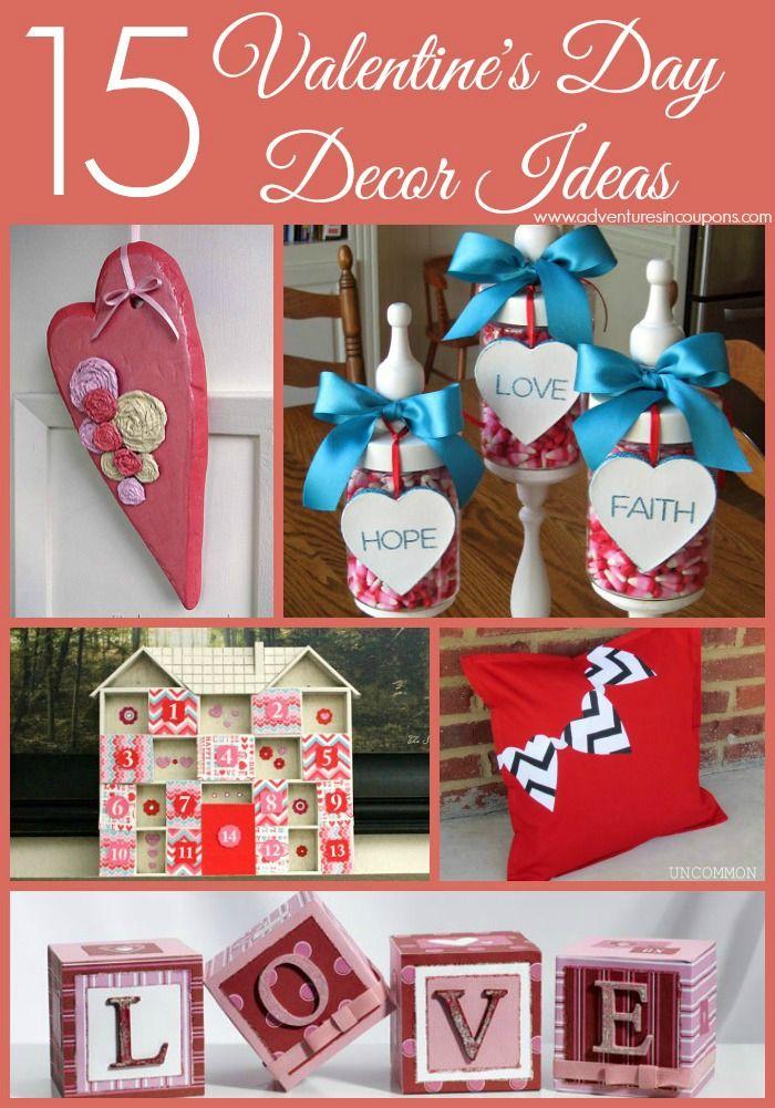 15 DIY Valentineu0027s Day Decor Ideas