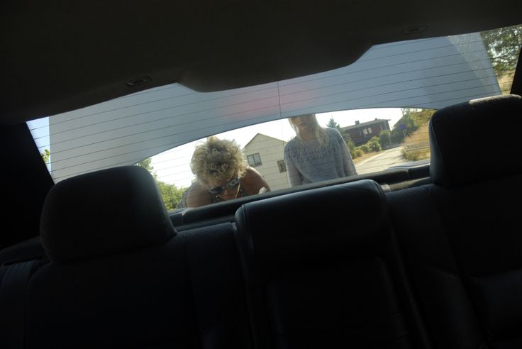 Packa ur bilen