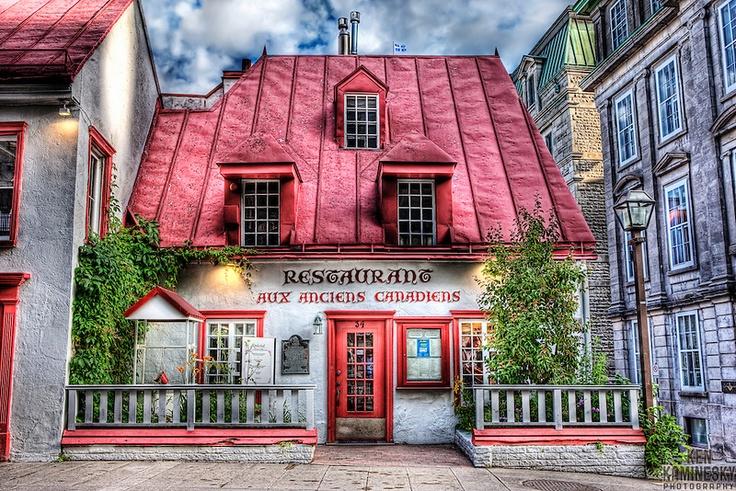 Restaurant Aux Anciens Canadiensin Quebec City | Ken Kaminesky Great soups