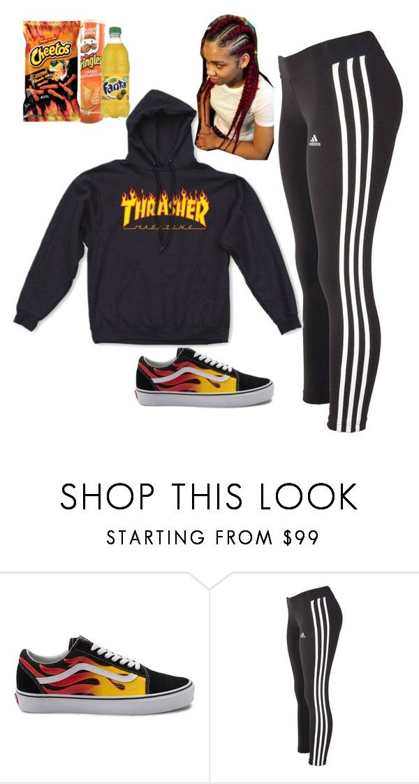 """""""Untitled #329"""" by itsbabya1 ❤ liked on Polyvore featuring Vans and adidas"""