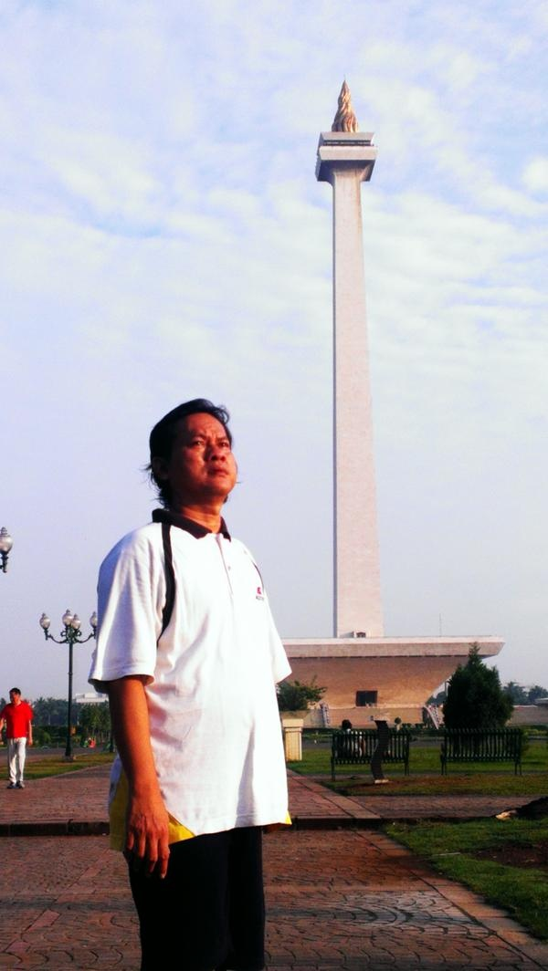 Monas, pride in my country, in Jakarta, Indonesia.