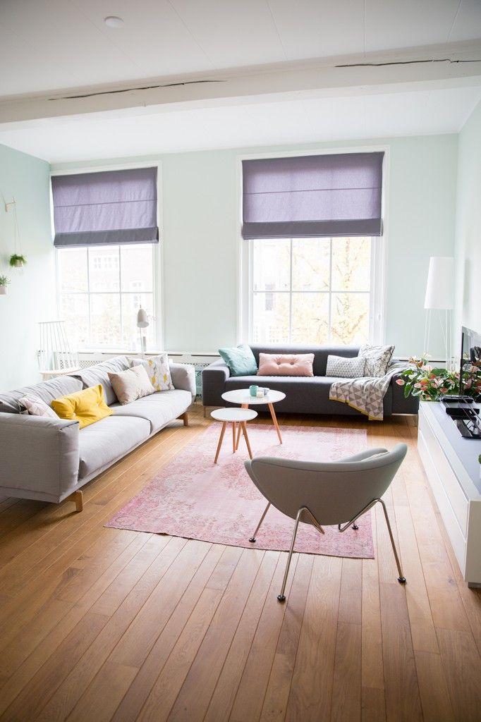 Femkeido Interior Design - Project Leiden centrum met Orange Slice stoel van Artifort