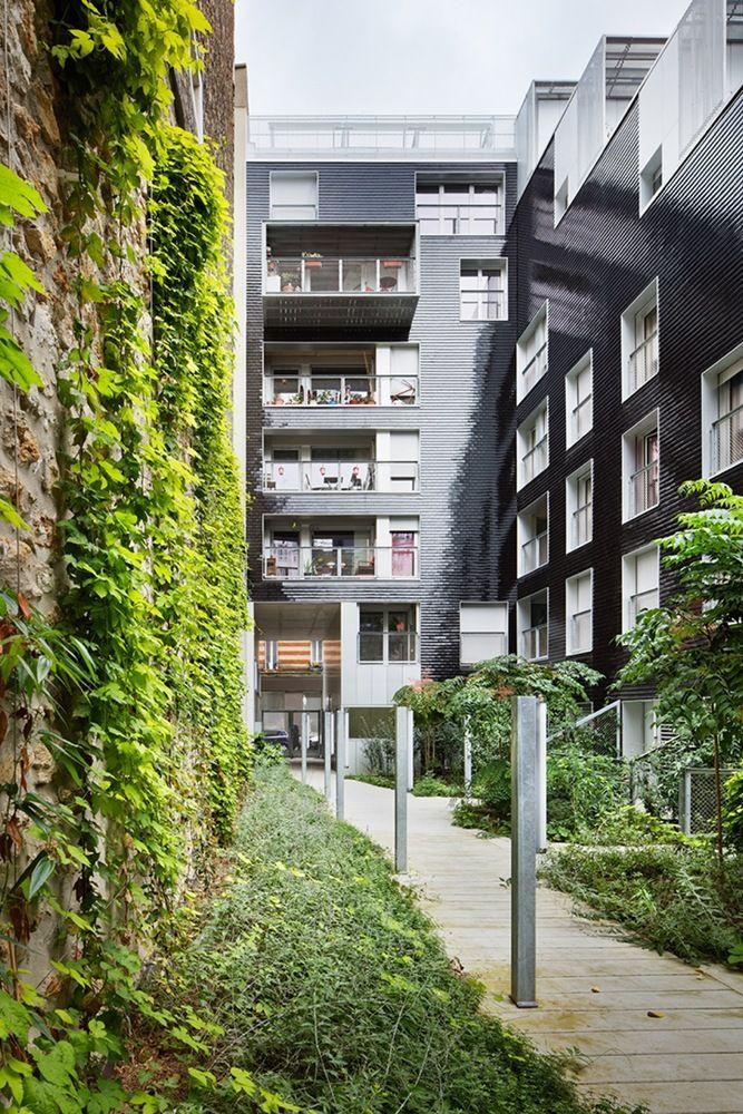 gallery of social housing units in paris atelier du pont 4
