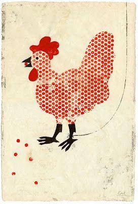 chicken by Edel Rodriguez