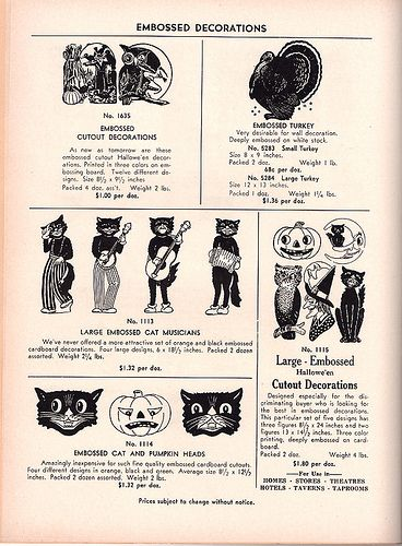 1948 the beistle company catalog by dragonflydesignstudio vintage halloween decorationshallows