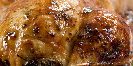 Maple Rosemary Injection Chicken