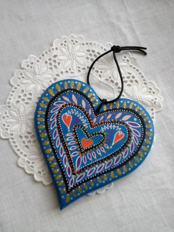 Warm Blues. by Catherine Cains on Etsy